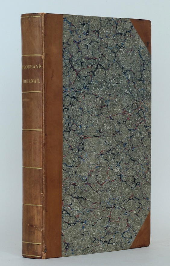 J. Backhouse & G.W. Walker A Journal of the Life … of … John Woolman, 1824 – inscribed. £295
