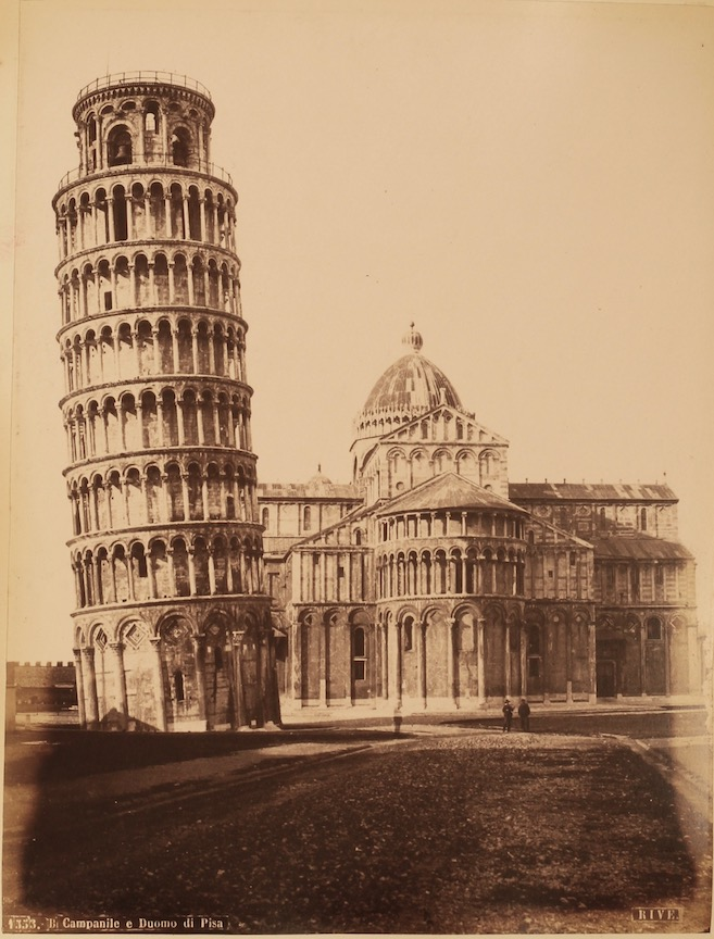 Fratelli Alinari et al.: Album of photographs of Italy, c. 1881-1892. £750