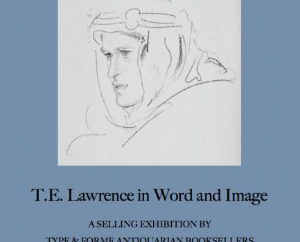4-27 October 2018: Lawrence of Arabia exhibition