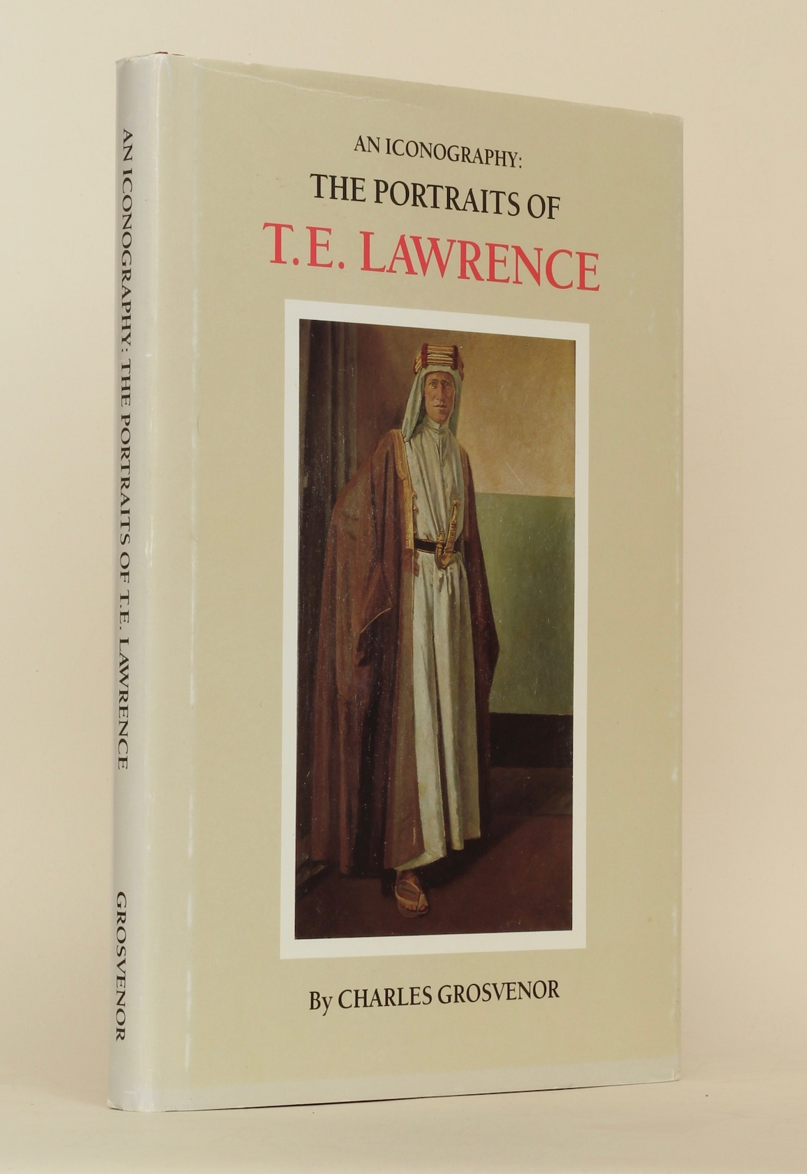 C.M. Grosvenor: An Iconography: The Portraits of T.E. Lawrence, 1988 – rev. 2nd ed. from the library of Jeremy Wilson. £95