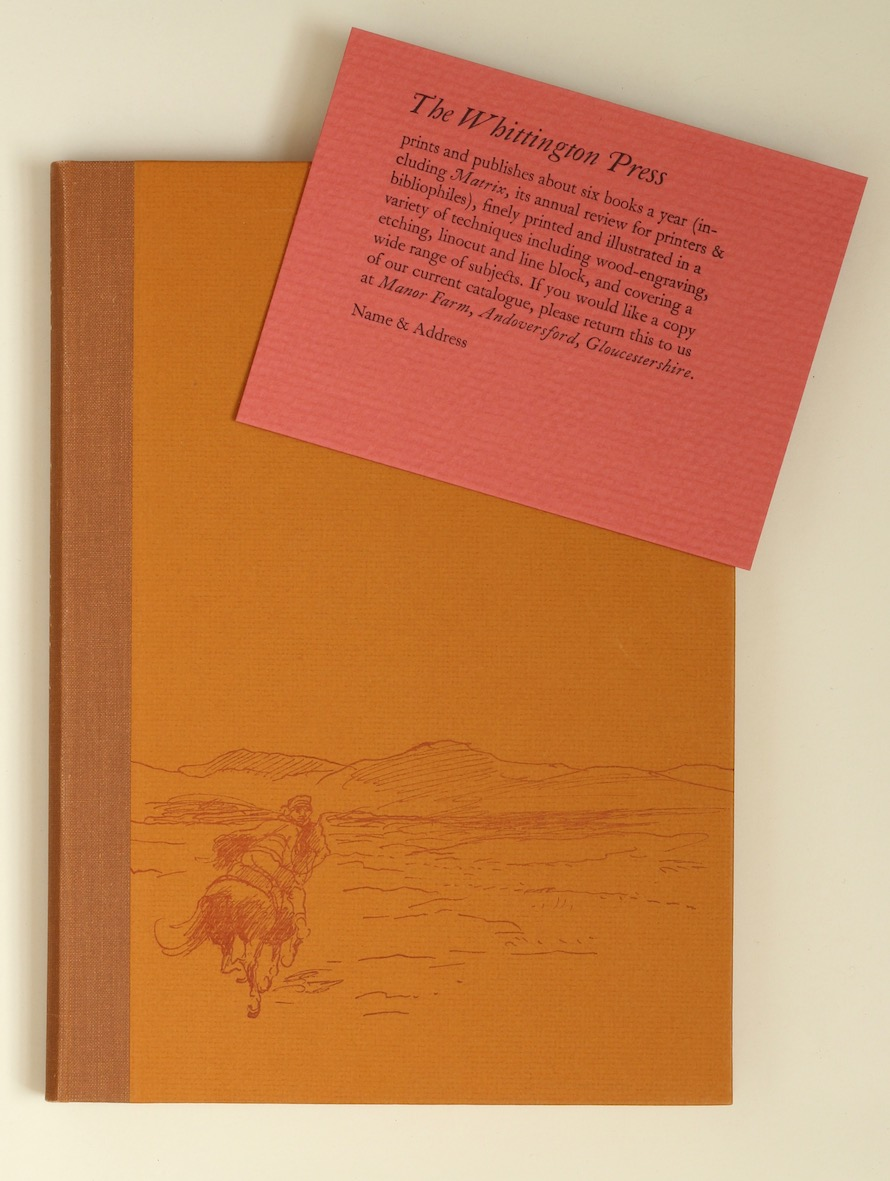 T.E. Lawrence: Letters to E.T. Leeds, 1988 – from the library of Lawrence's biographer Jeremy Wilson. £700