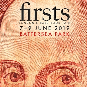 Type & Forme at Firsts Book Fair London, 7-9 June 2019
