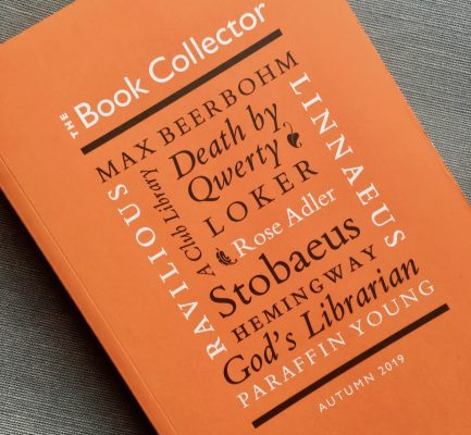 James 'Paraffin' Young's alchemical library: Anke's new article in The Book Collector