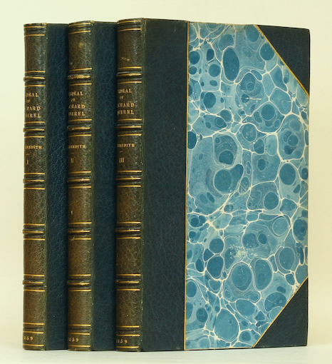 George Meredith: The Ordeal of Richard Feverel, 1859 – from the libraries of W.E. Darwin & Stephen Keynes. £495