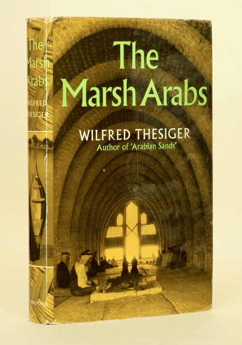 Sir Wilfred Thesiger: The Marsh Arabs, 1963 – first edition. £95