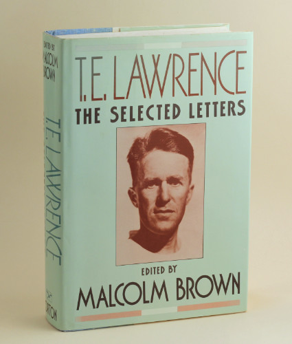 T.E. Lawrence: The Selected Letters, 1989 – from the library of Jeremy Wilson. £39.50