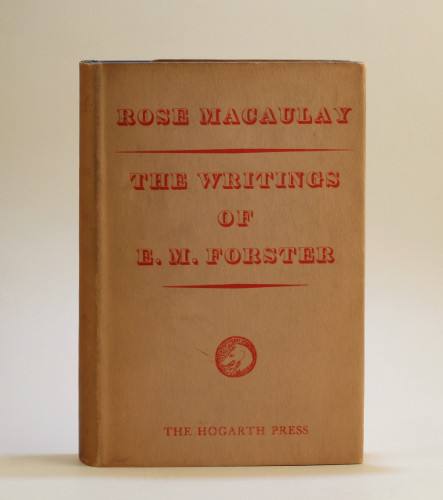 Rose Macaulay: The Writings of E.M. Forster, 1938 – first edition. £49.50