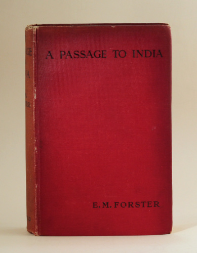 E.M. Forster: A Passage to India, 1924 – from the library of Jeremy Wilson. £450