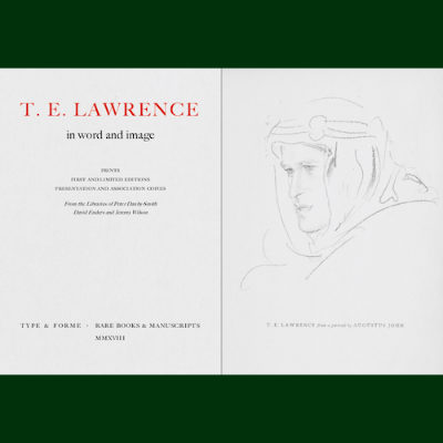 T. E. Lawrence in Word and Image