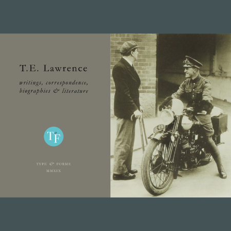 T.E. Lawrence: Writings, Correspondence, Biographies & Literature