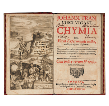 The Chymical Library of John Ferguson: Anke's final alchemy article in The Book Collector
