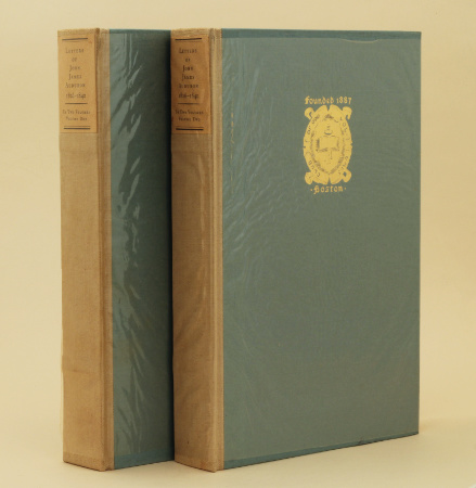 The Letters of John James Audubon (1930) – 1st, ltd ed. from the library of Darwin's great-grandson. £195