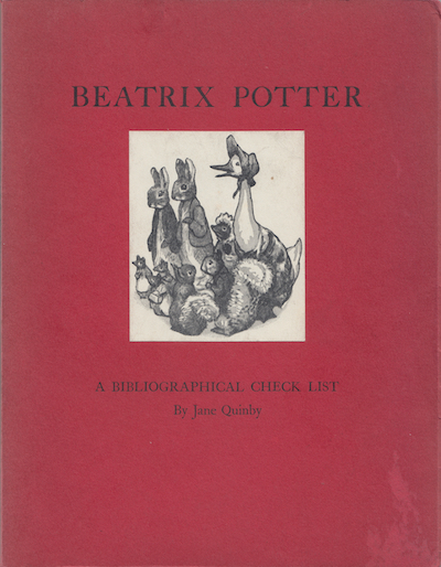 Jane Quinby: Beatrix Potter, 1954 – first, limited edition. £195
