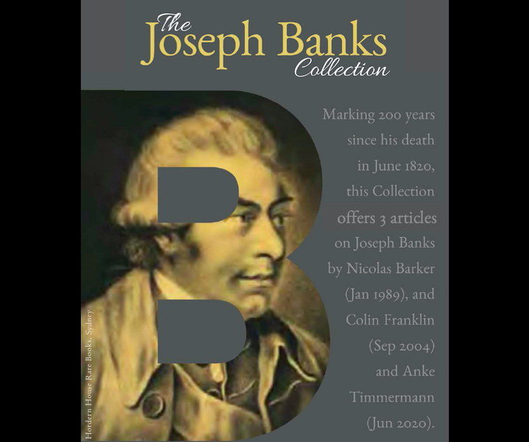 The Joseph Banks Collection: The Book Collector ft. T&F