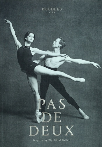 Pas de Deux. Inspired by the Royal Ballet, 2015. £24.95