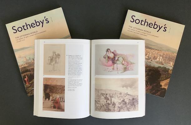 Sefik E. Atabey: The Ottoman World, 2002 – 3-volume auction catalogue. £75