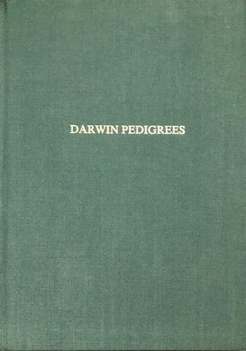R.B. Freeman: Darwin Pedigrees, 1984. £39.50