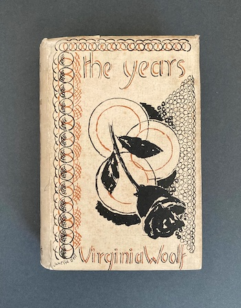 Virginia Woolf: The Years, 1937 – from the library of John Maynard Keynes' nephew & godson. £295