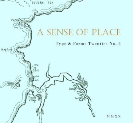 T&F Twenties No 3: A Sense of Place