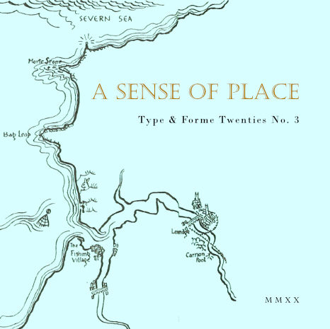 T&F Twenties No 3: A Sense of Place
