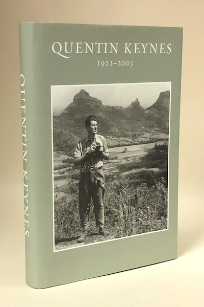 Quentin Keynes. Explorer, Film-Maker, Lecturer and Book-Collector (2004) – first, only, limited edition. £50