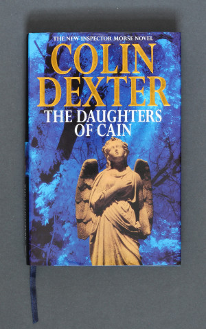 Colin Dexter: The Daughters of Cain, 1994 – first edition. £14.95
