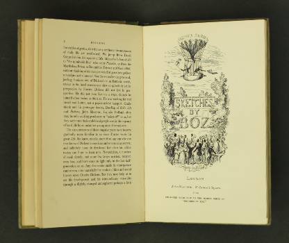 Charles Dickens – Dickens, Positively the First Appearance…, 1933 – important presentation copy. £75