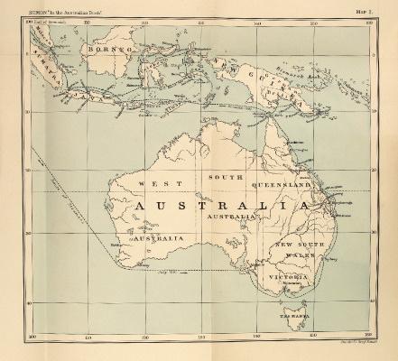 Richard Wolfgang Semon: In the Australian Bush…, 1899 – first English edition. £149.50