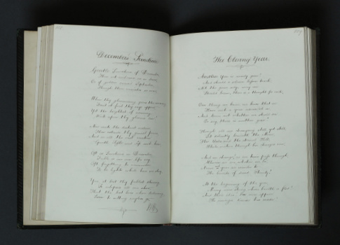 [William Howarth]: M.S. Poems, 1866 – manuscript. £495