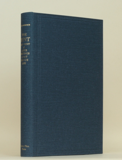T.E. Lawrence: The Mint…, 2010 – Castle Hill Press limited 'library edition'. £125