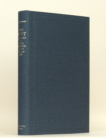 T.E. Lawrence: 'The Mint' and Later Writings about Service Life, 2010 – CHP limited 'Library Edition'. £125