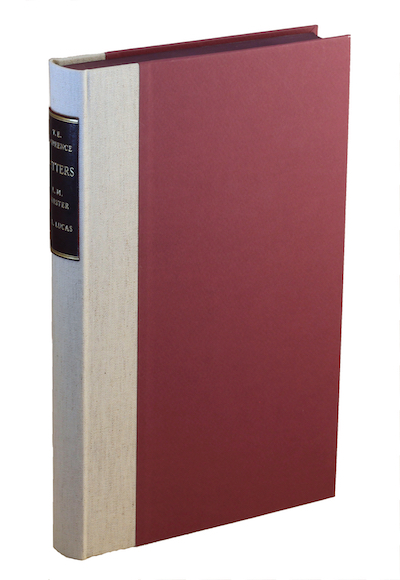 T.E. Lawrence: Correspondence with E.M. Forster and F.L. Lucas, 2010 – limited Castle Hill Press ed. £250