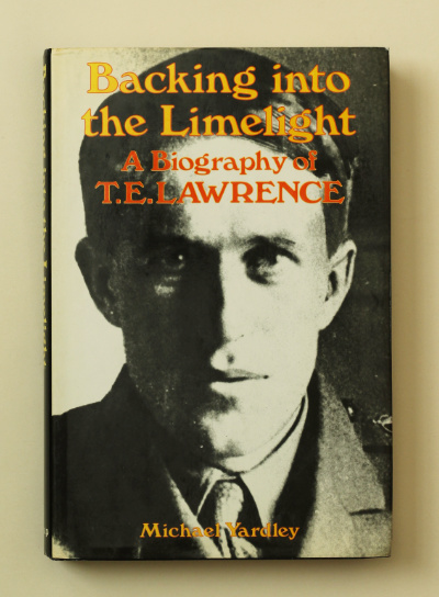 Michael Yardley: Backing into the Limelight, 1985 – 1st ed. from the library of Jeremy Wilson. £29.50
