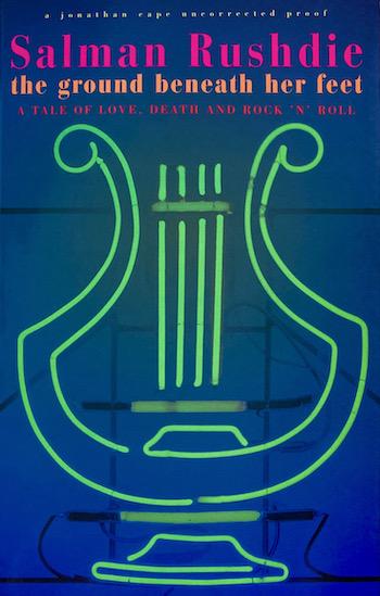Salman Rushdie: The Ground Beneath her Feet, 1999 – uncorrected proof. £19.50